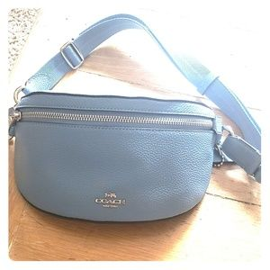 Coach New York Logo Belt Bag